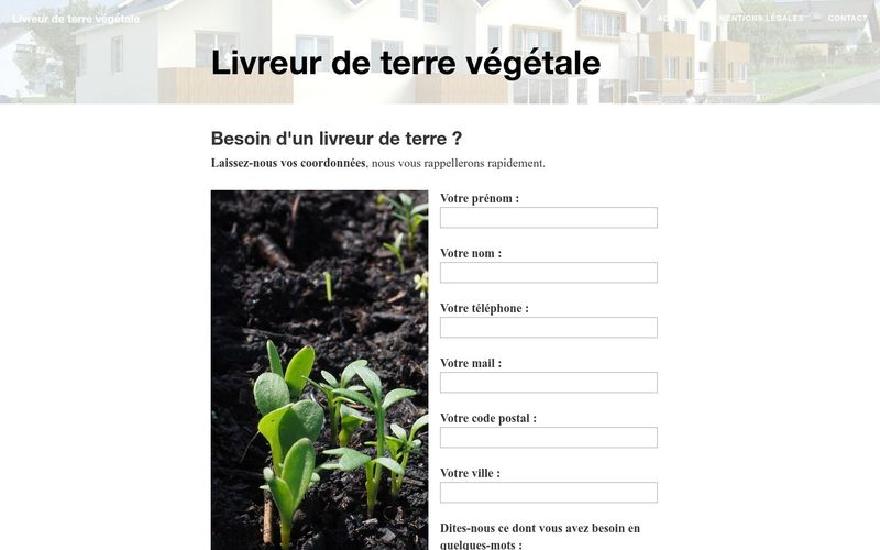 Où trouver de la terre végétale ?