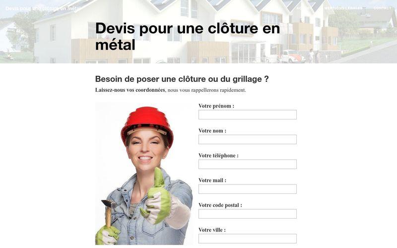 Les avantages d'une clôture en métal